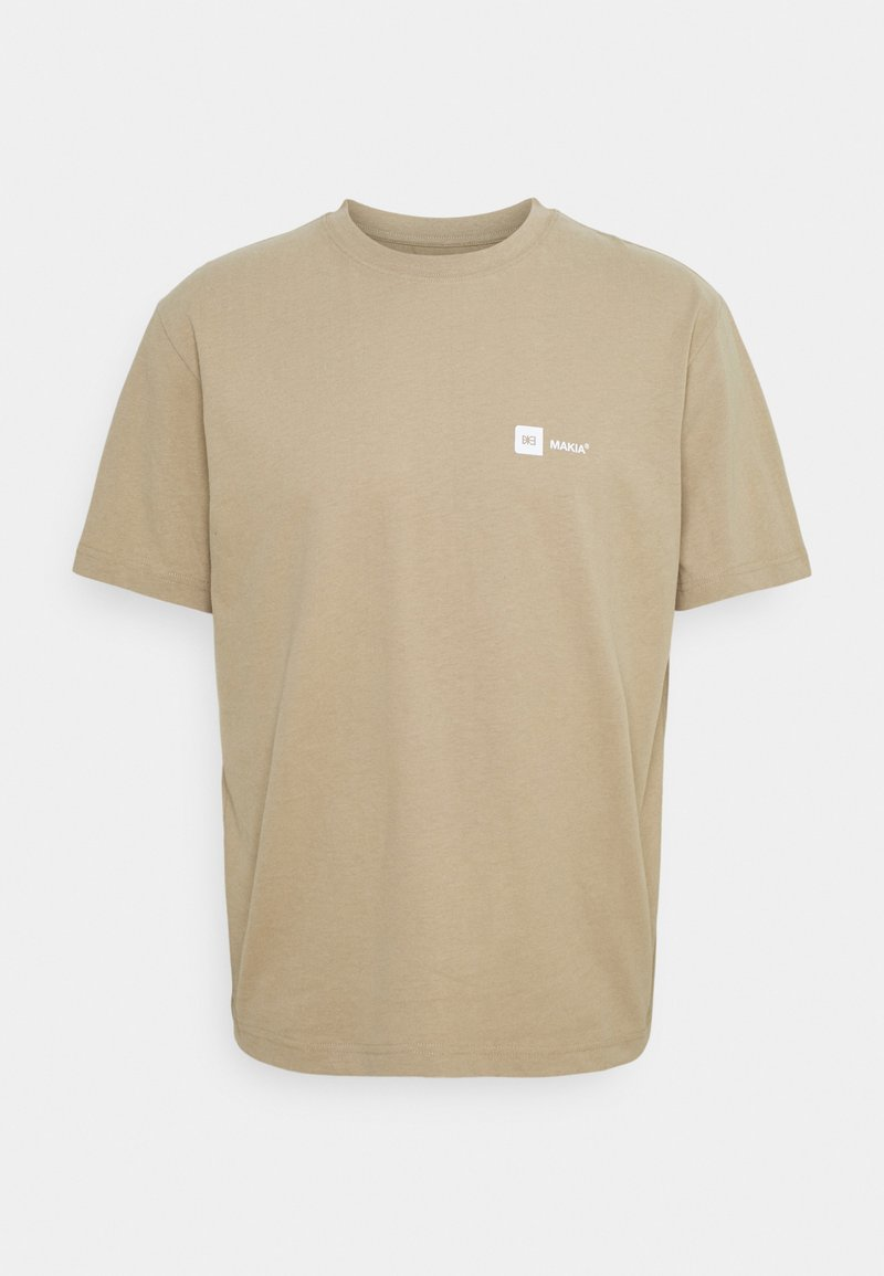 Makia - DYLAN - Print T-shirt - beige