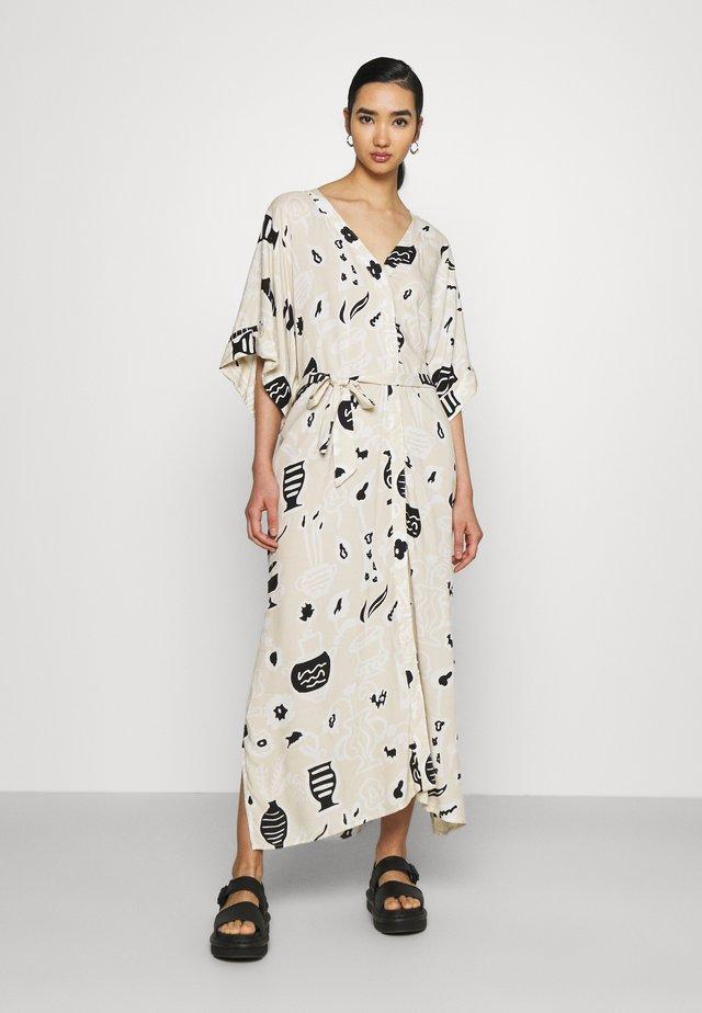 CARRO DRESS - Długa sukienka - beige