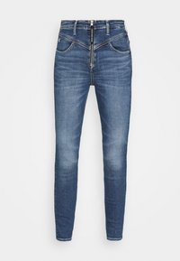 Calvin Klein Jeans - HIGH RISE  - Jeans Skinny Fit - mid blue - 3