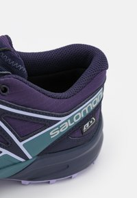 Salomon - SPEEDCROSS CSWP UNISEX - Trekingové boty - grape/mallard blue/lavender - 5