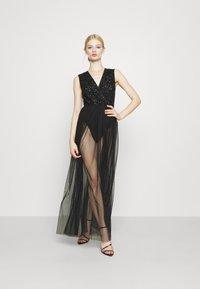 Lace & Beads - LILLIAN MAXI - Robe de cocktail - black - 1