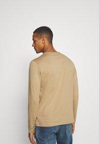 Burton Menswear London - LONG SLEEVE CREW 2 PACK  - Long sleeved top - dark blue - 2