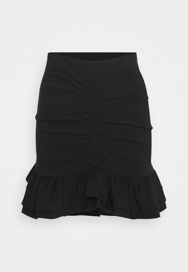 BENGALINE RUCH - Blyantnederdel / pencil skirts - black