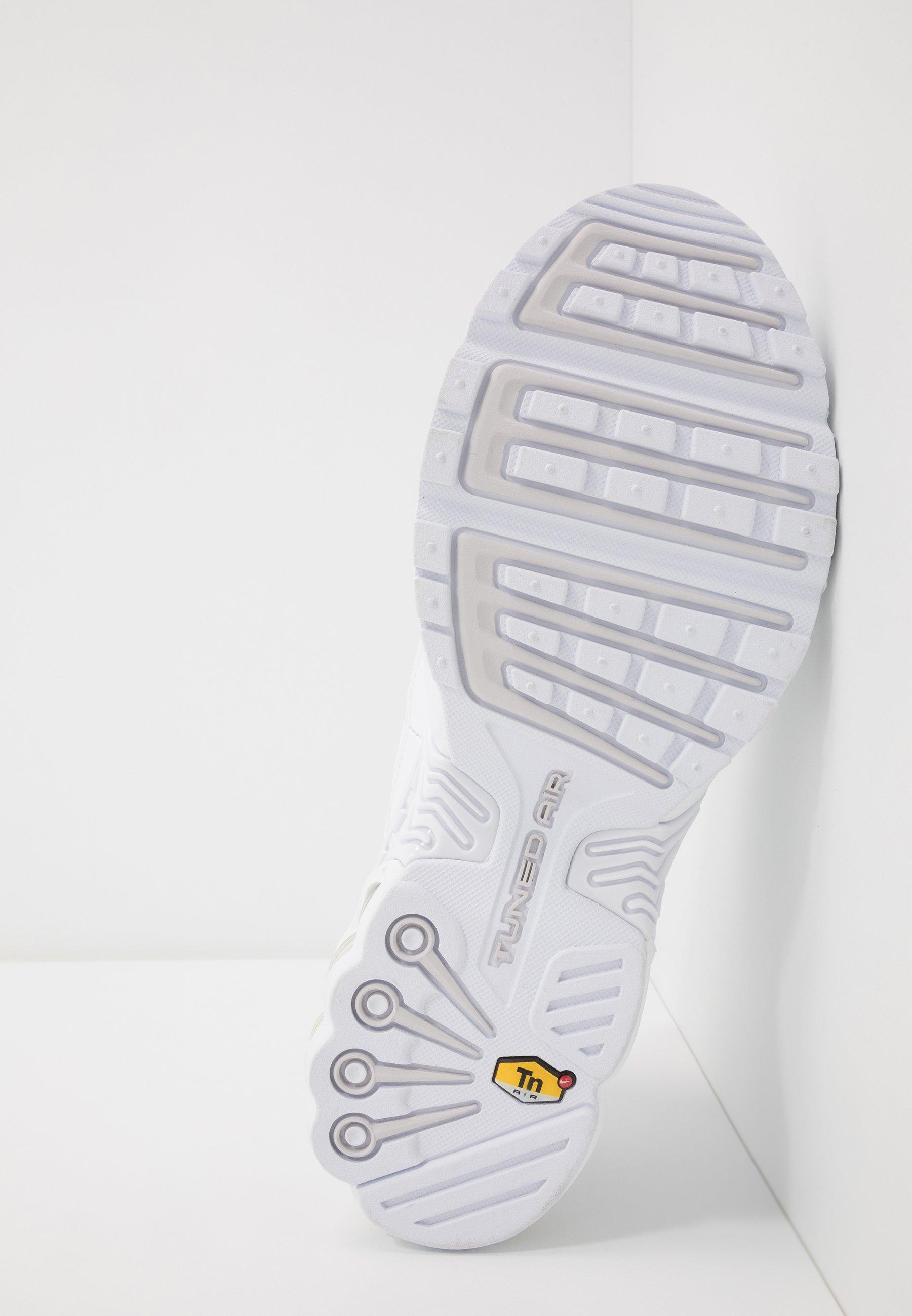 AIR MAX PLUS III - Baskets basses - white/vast grey