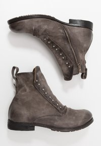 A.S.98 - CLASH - Cowboy/biker ankle boot - smoke - 1