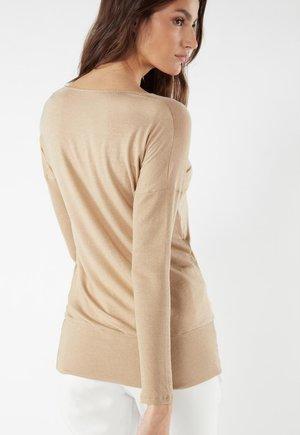 Pyjama top - natural beige