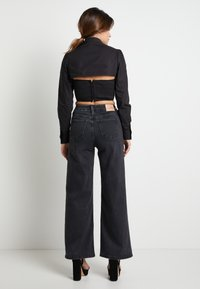 Pepe Jeans - DUA LIPA X PEPE JEANS - Overhemdblouse - black - 2