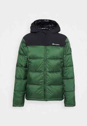 HOODED JACKET - Vinterjakker - green