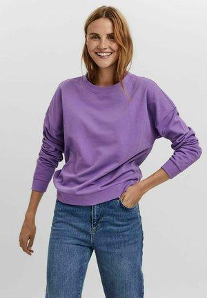 Sweatshirt - hyacinth