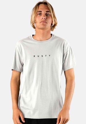 SHORT SLEEVE - Basic T-shirt - cool grey