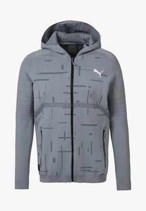 Zip-up sweatshirt - medium gray heather