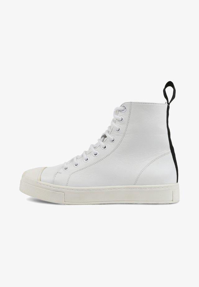COURT - Höga sneakers - white