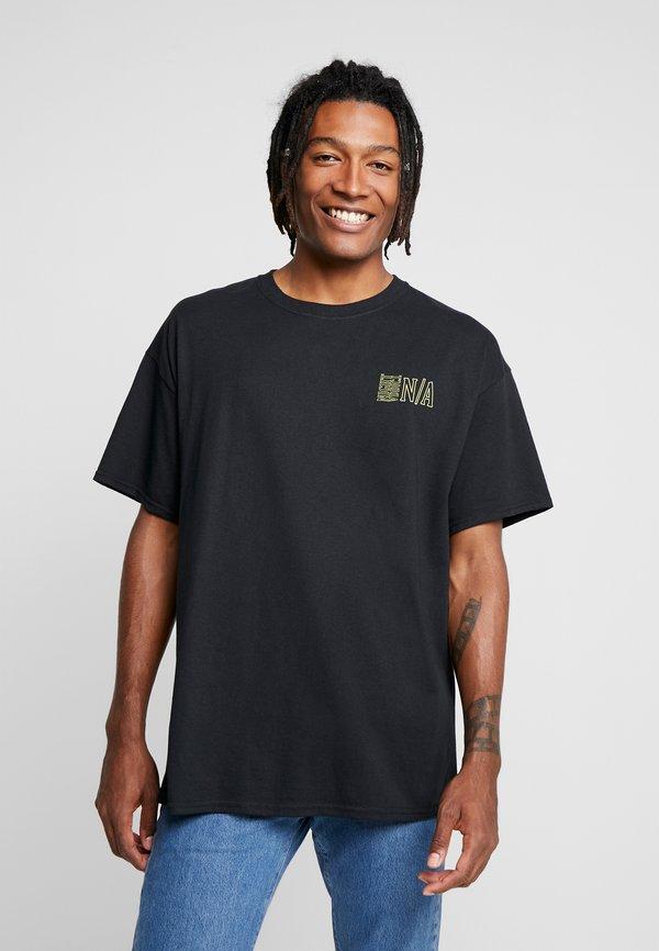 Night Addict T-shirt z nadrukiem - black/czarny Odzież Męska UAWB