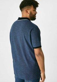 C&A - Polo shirt - mottled blue - 2