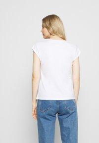 Anna Field - 3 PACK - T-shirts - black/white/mottled light grey - 2