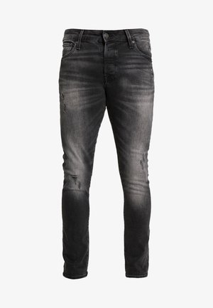 JJIGLENN JJICON - Slim fit jeans - black denim