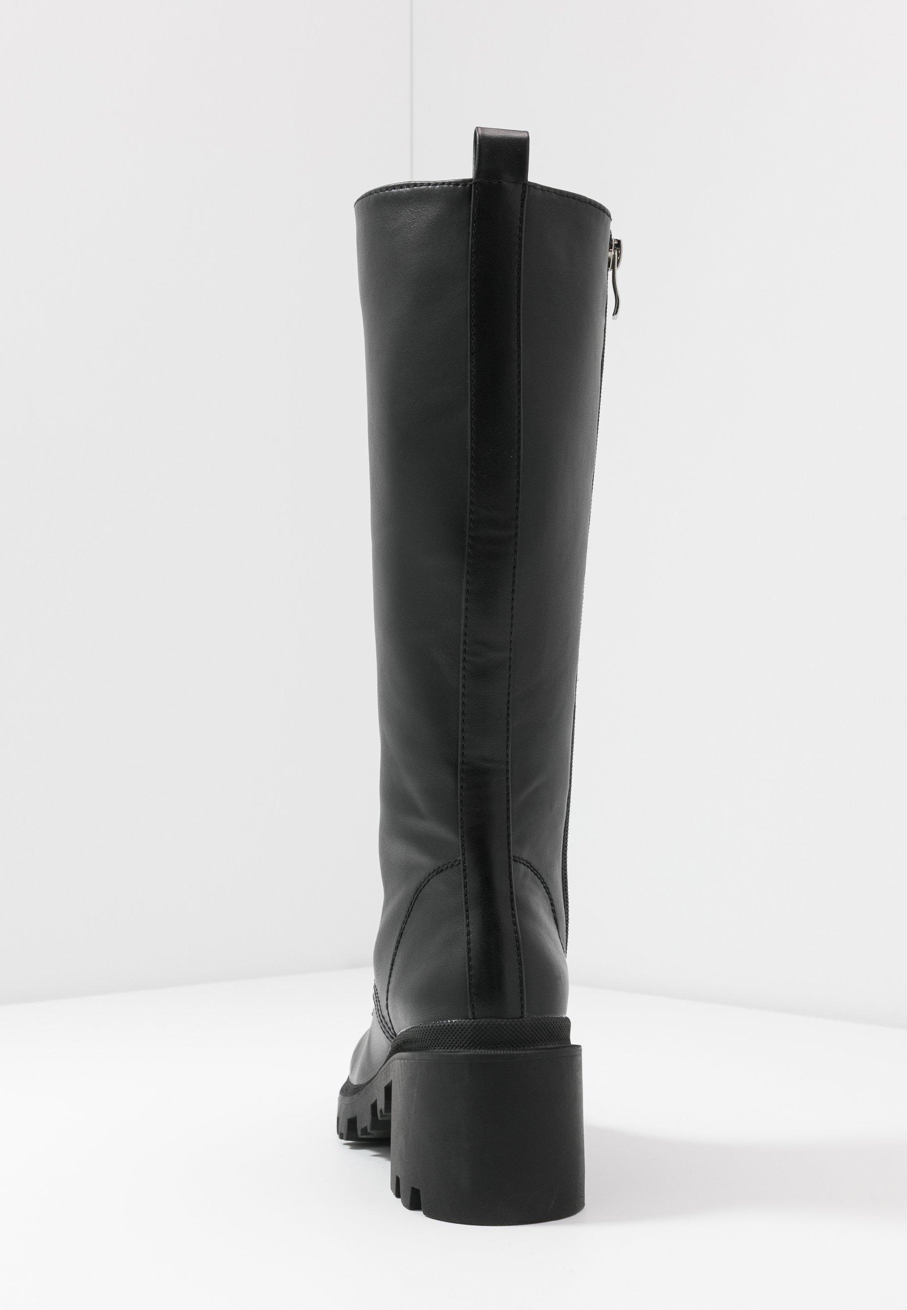 Madden Girl DORIAN - Platåstøvler - black paris