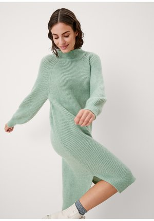 Gebreide jurk - green
