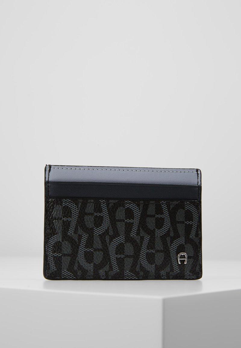 Aigner - CARD CASE - Monedero - black