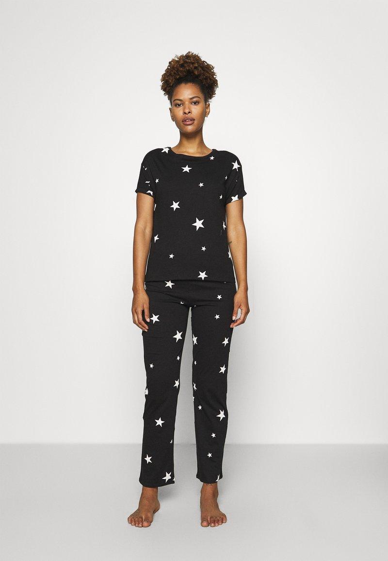Marks & Spencer London - STAR - Pyjamas - black mix