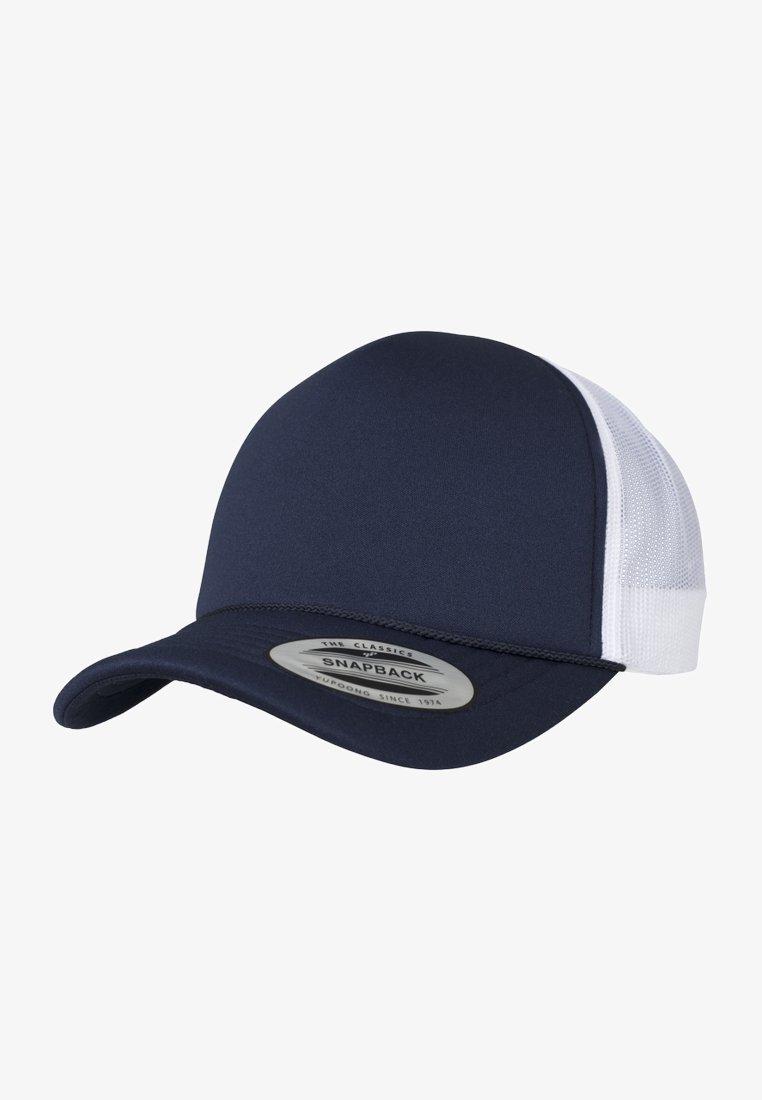 Flexfit - Cap - white/ dark blue