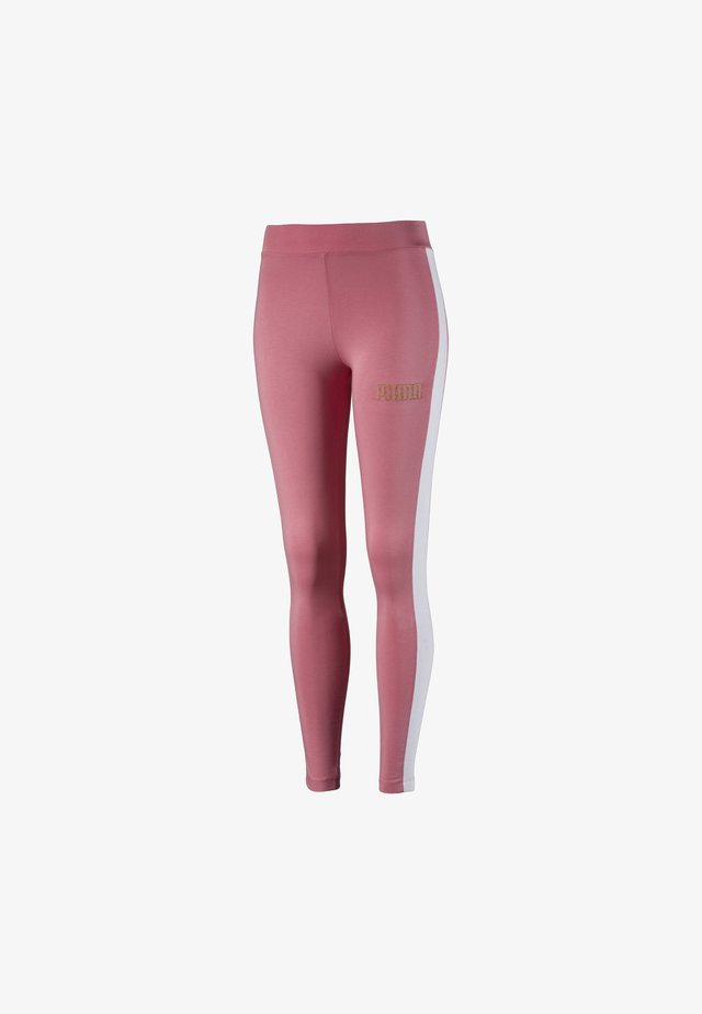 Leggings - Trousers - brandied apricot