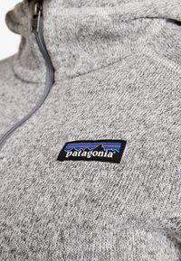 Patagonia - BETTER SWEATER HOODY - Fleece jacket - birch white - 3