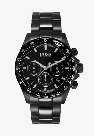 Chronograph watch - black/black