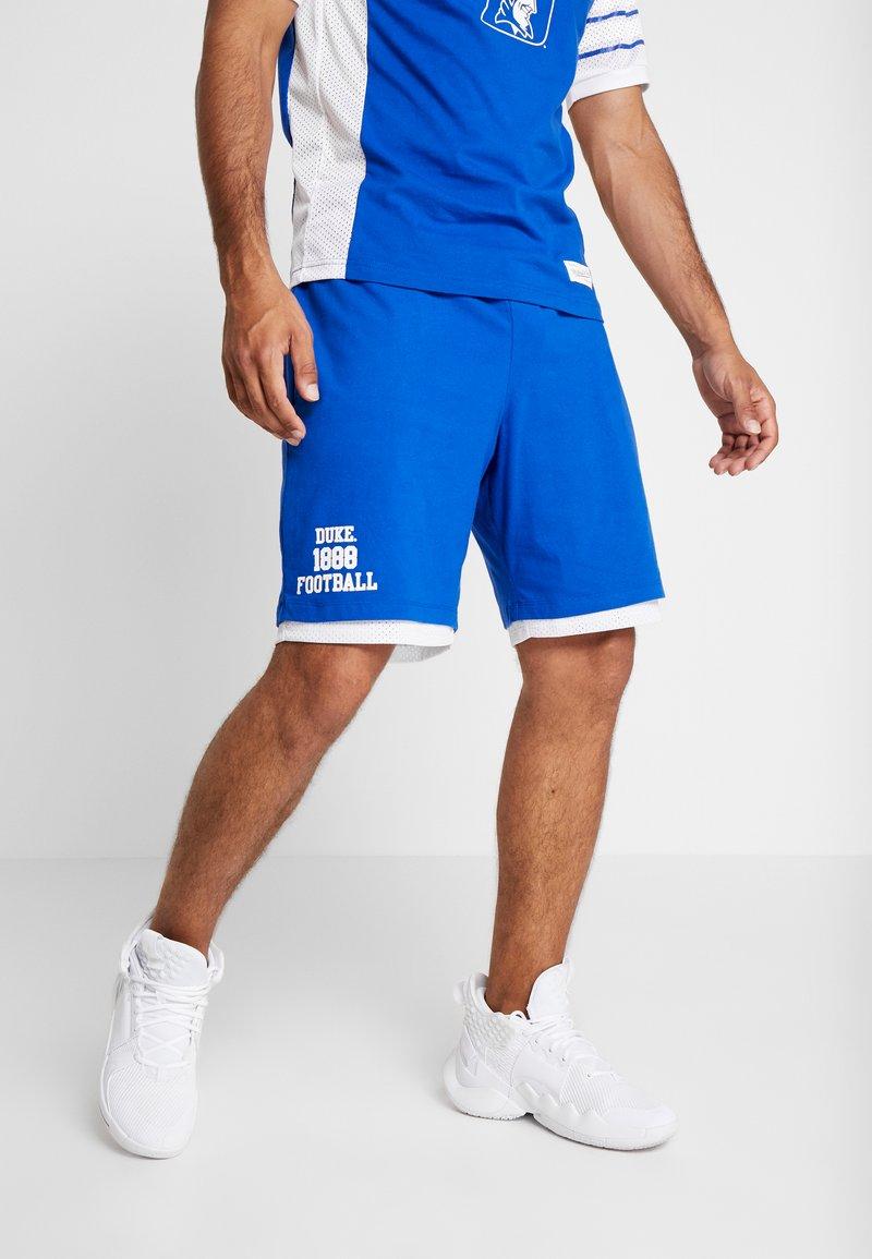 Mitchell & Ness - DUKE BLUE DEVILS SHORT - Sports shorts - royal