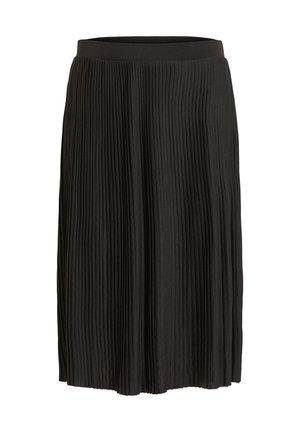 FALTENDETAIL - Pleated skirt - black