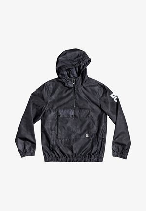 DC SHOES™ CHEADLE - ANORAK MIT KAPUZE UND HALBREISSVERSCHLUSS FÜR - Summer jacket - black