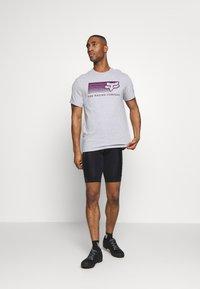 Fox Racing - DRIFTER TEE - T-Shirt print - light heather grey - 1