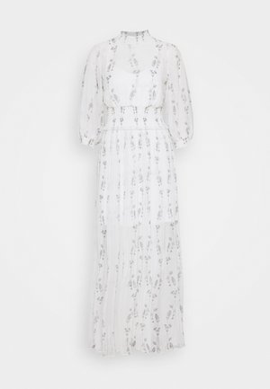 DELFI VARANASI DRESS - Vestido largo - chalk white