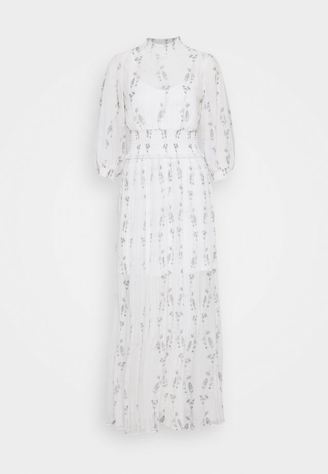 DELFI VARANASI DRESS - Maxikjoler - chalk white