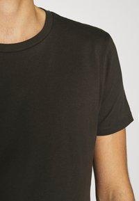 Burton Menswear London - SHORT SLEEVE CREW 10 PACK - T-shirt basic - charcole/navy - 8