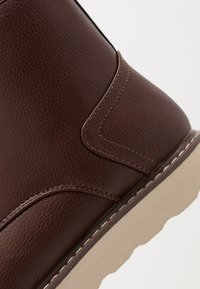 New Look - 75 HIKER BOOT - Bottines à lacets - dark brown - 5