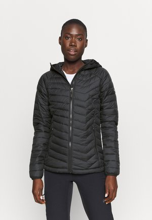 POWDER LITE HOODED JACKET - Kurtka zimowa - black