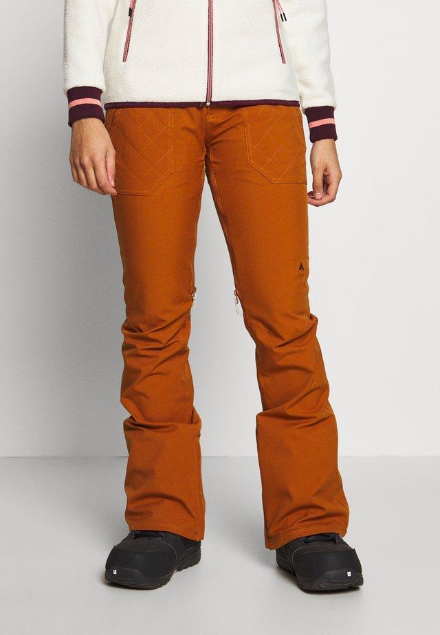 VIDA ROSE BROWN - Zimní kalhoty - true penny