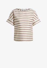 Oui - Print T-shirt - light stone red / pink - 4