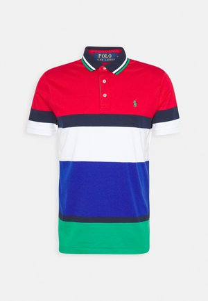 SOFT TOUCH - Polo - red/multi