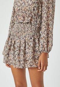 PULL&BEAR - Mini skirt - brown - 0