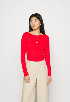 BATEAU - Long sleeved top - vermillion