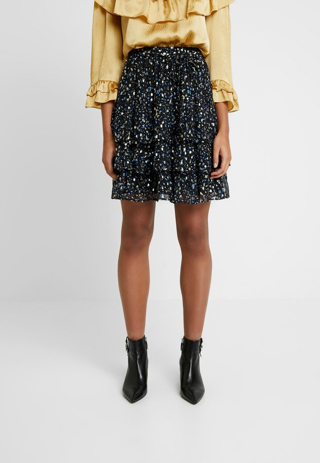 NIST - A-line skirt - sparkles in the night