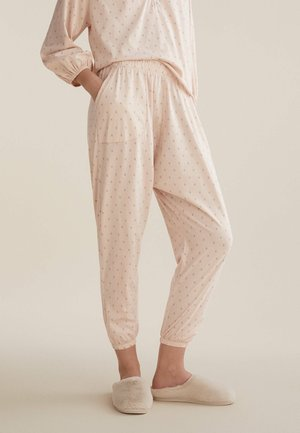 Pyjama bottoms - rose