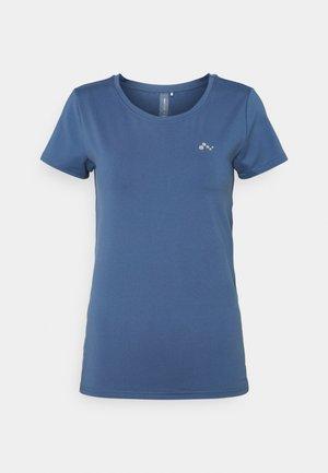 ONPCLARISSA TRAINING TEE - Jednoduché triko - bijou blue