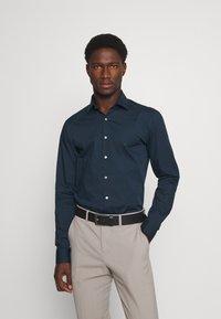 Calvin Klein Tailored - STRETCH SLIM  - Formal shirt - navy - 0