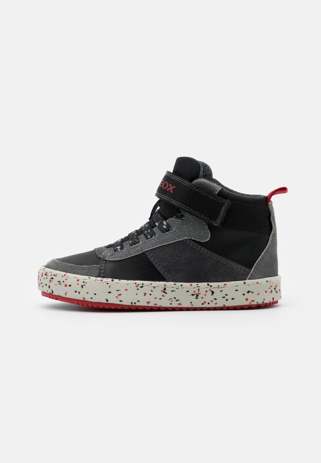 ALONISSO BOY - High-top trainers - black/red