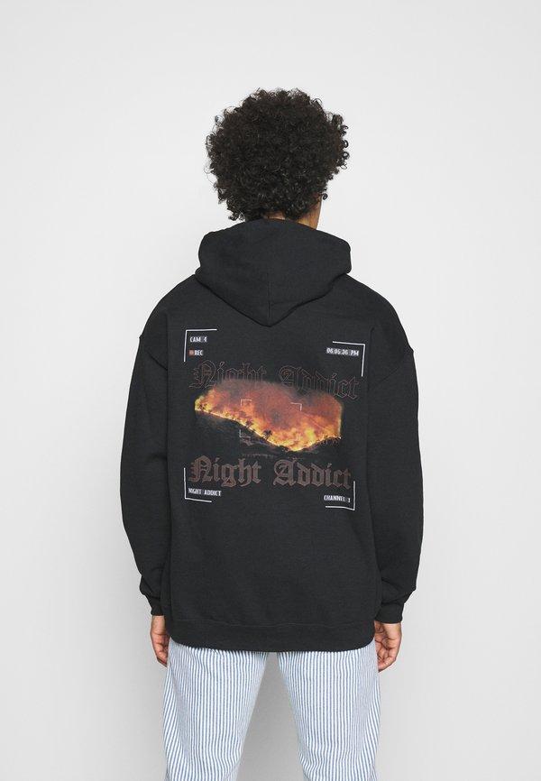 Night Addict CAMERA - Bluza - black/czarny Odzież Męska LIZH