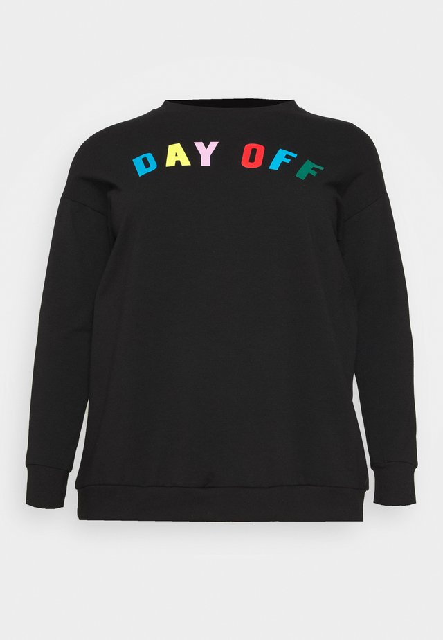 DAY OFF - Sweatshirt - black
