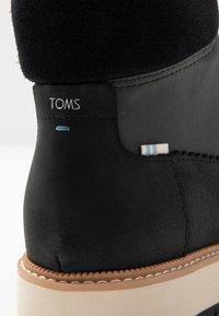 TOMS - MESA - Ankle boots - black - 2